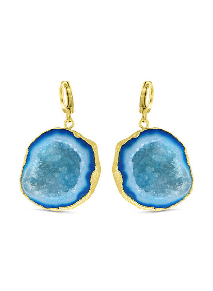 Earrings - Amala Blue