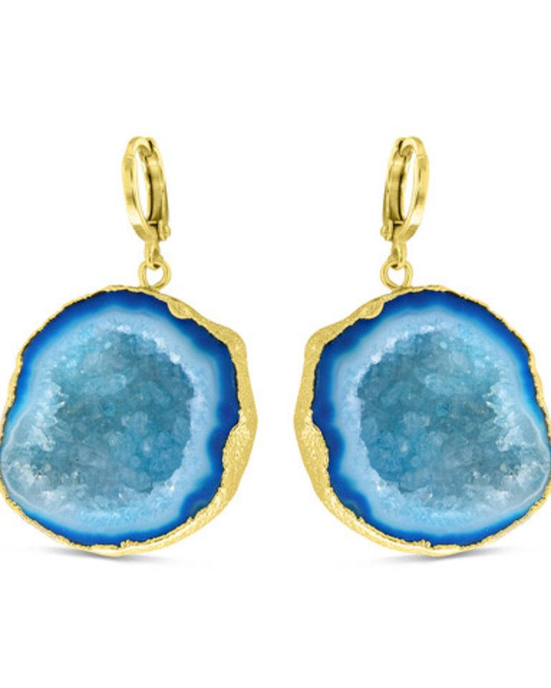 Earrings - Amala Blue