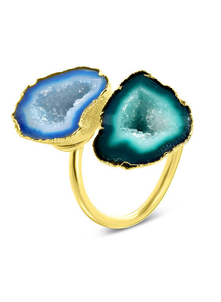 Ring - Savita Blue/Green