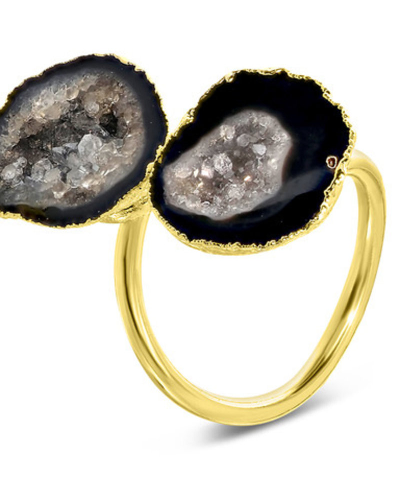 Ring - Savita Black