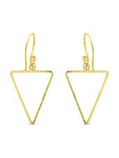 Earrings - Small Triangle