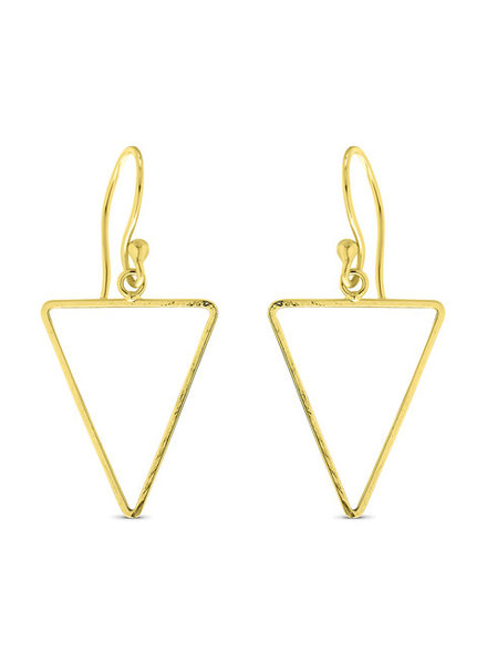 Earrings - Small Triangle