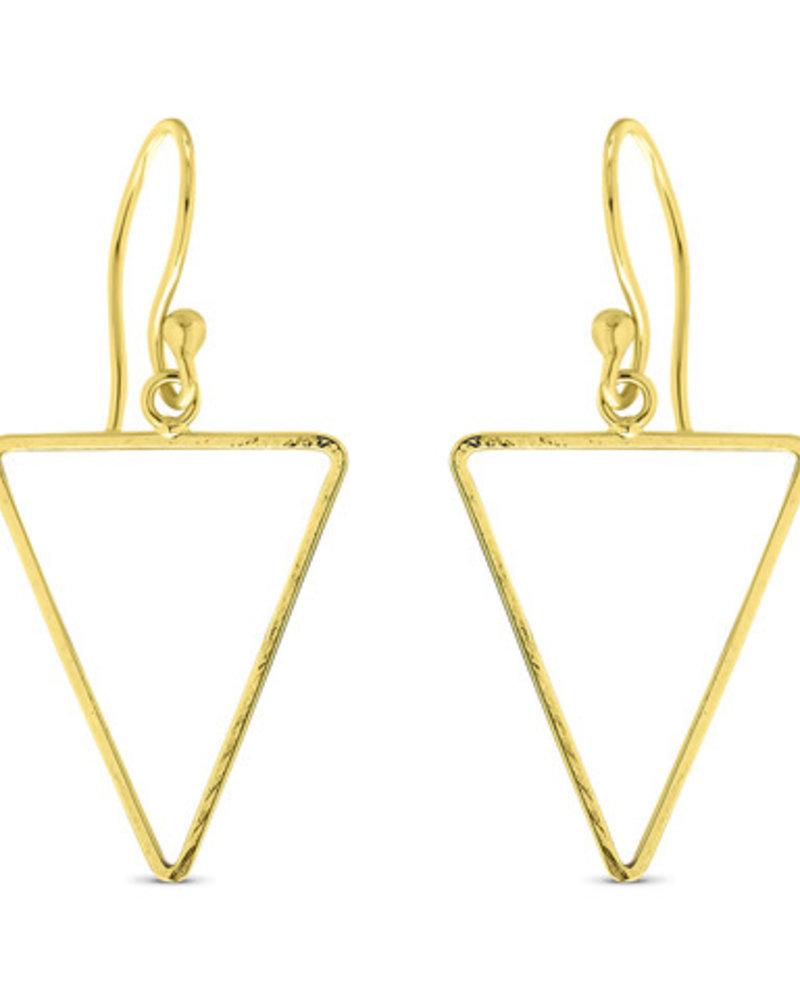 Oorbellen - Small Triangle