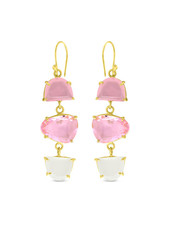 Earrings - Pink Crush