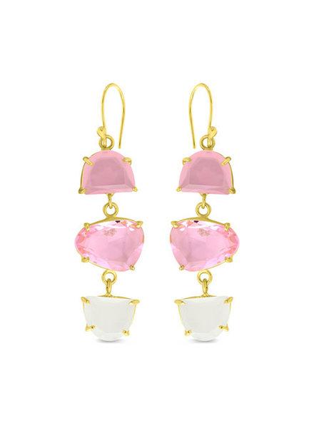 Earrings - Pink Crush
