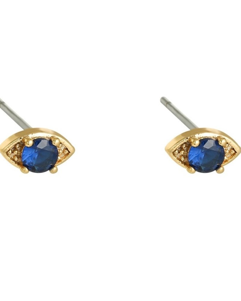 Earrings - Shalee Blue
