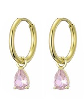 Earrings – Drop Pink