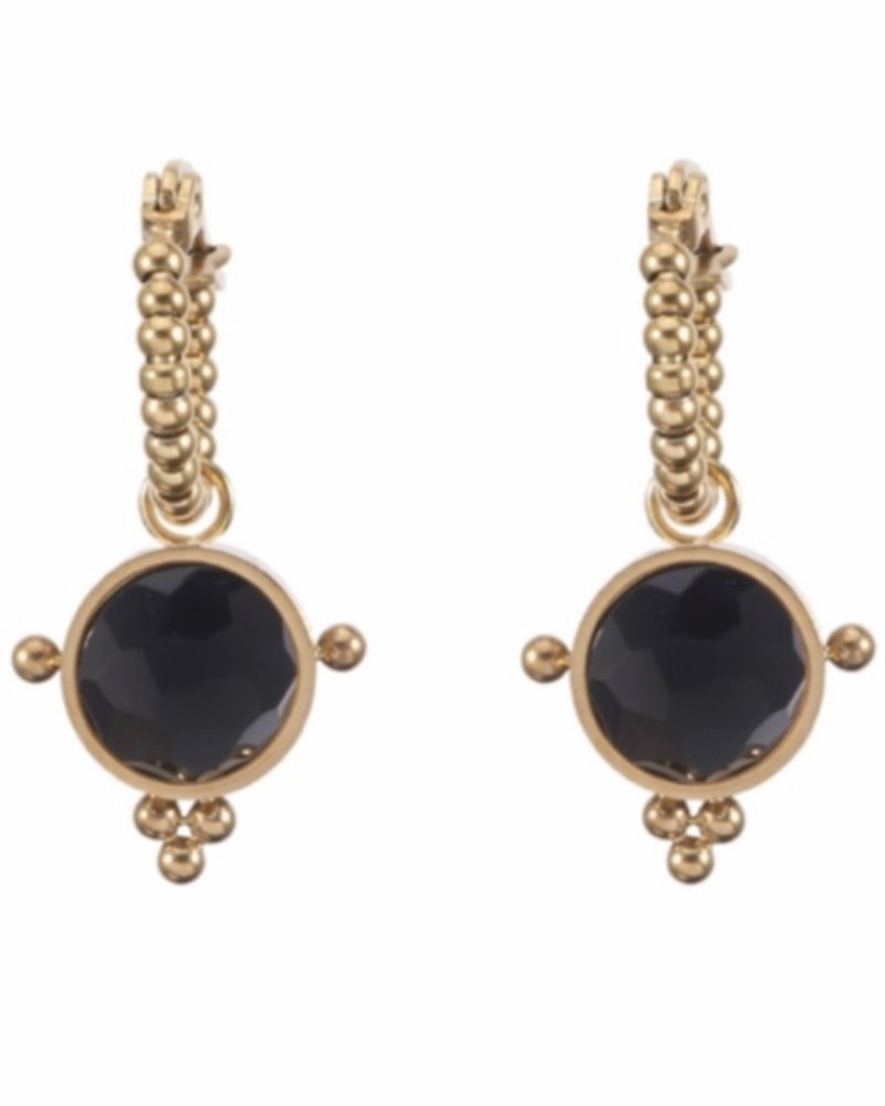 Earrings - Lola Black