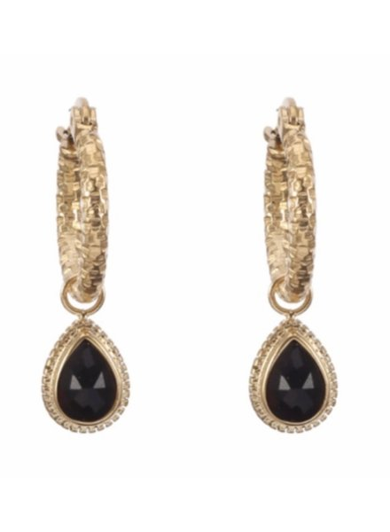 Earrings - Dagan Black