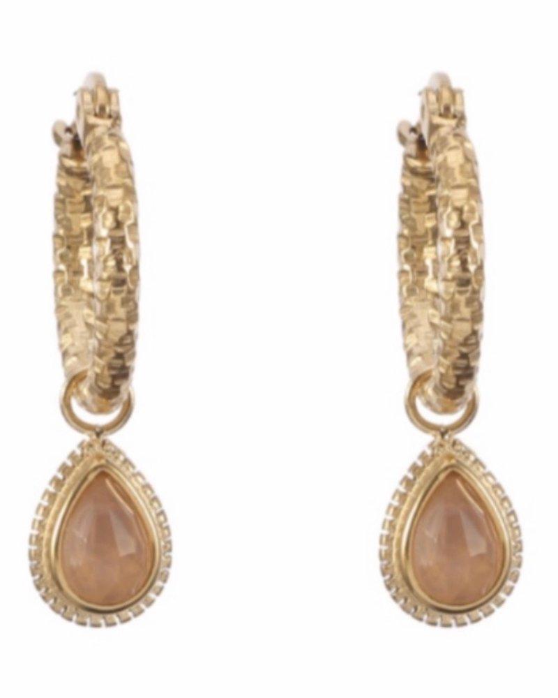 Earrings - Dagan Pink
