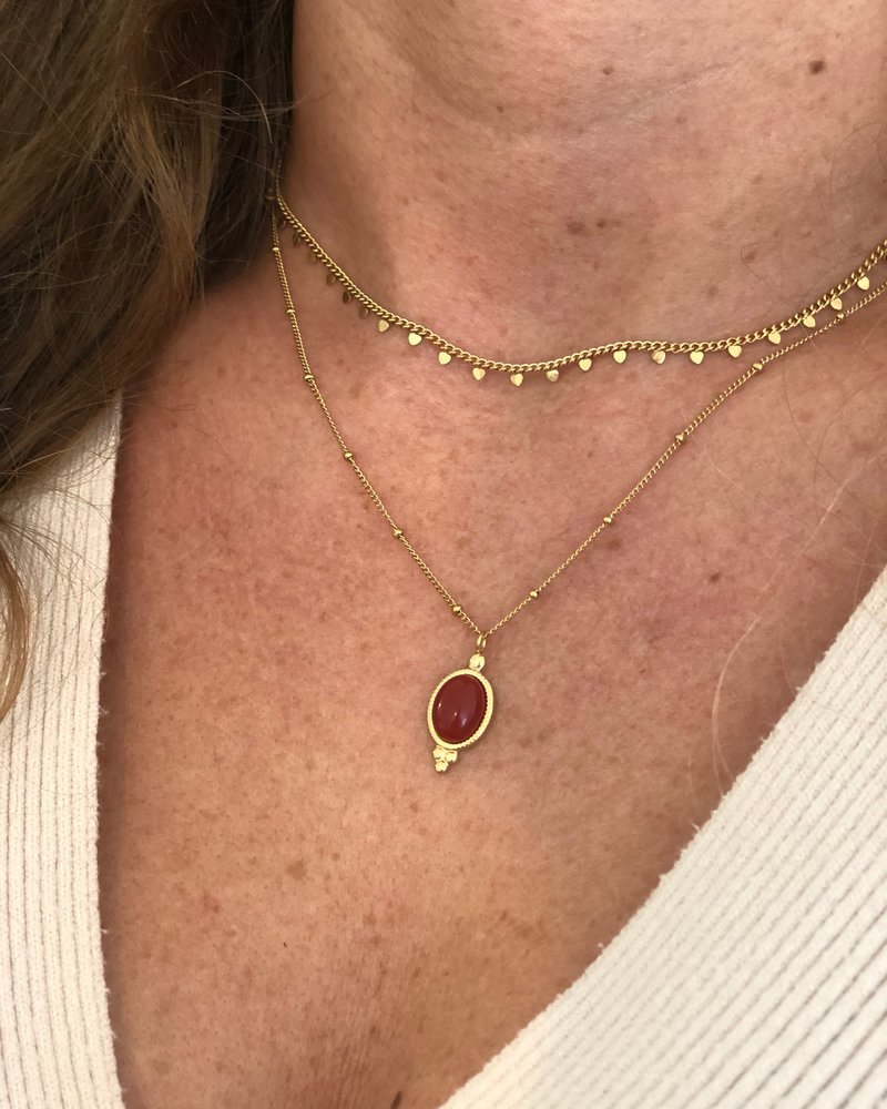 Necklace - Red Love