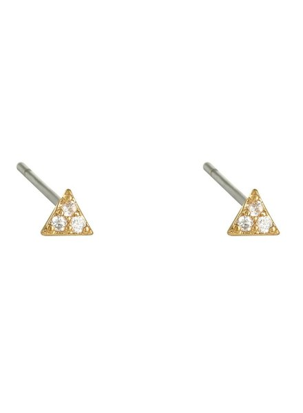 Earrings - Mini Triangle