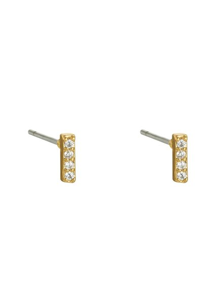 Earrings - Bar Studs