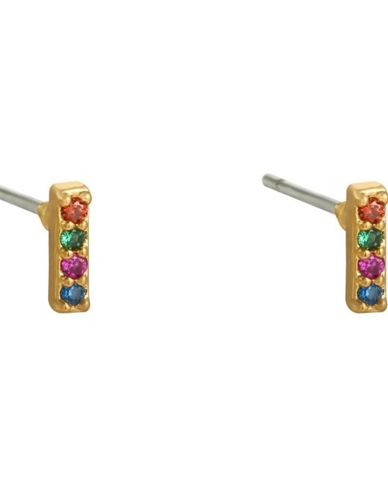 Earrings - Bar Studs Colors
