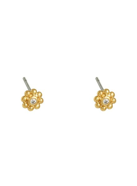Earrings - Flower Studs