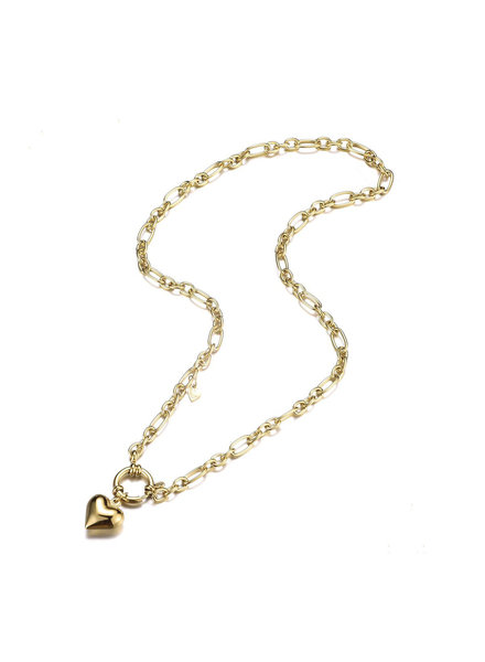 Necklace - Princess Heart