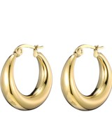 Earrings - Small Thick Hoops