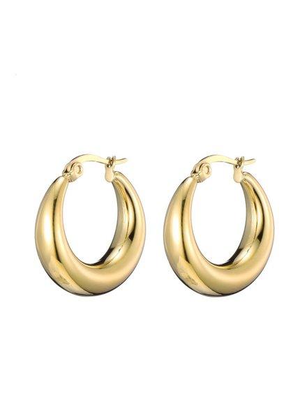 Earrings - Thick Hoops