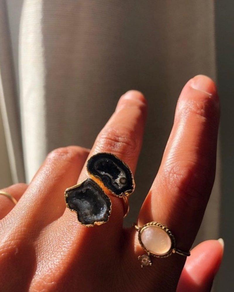 Ring - Savita Black