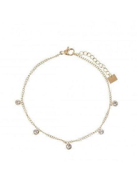 Bracelet - 5 Diamonds