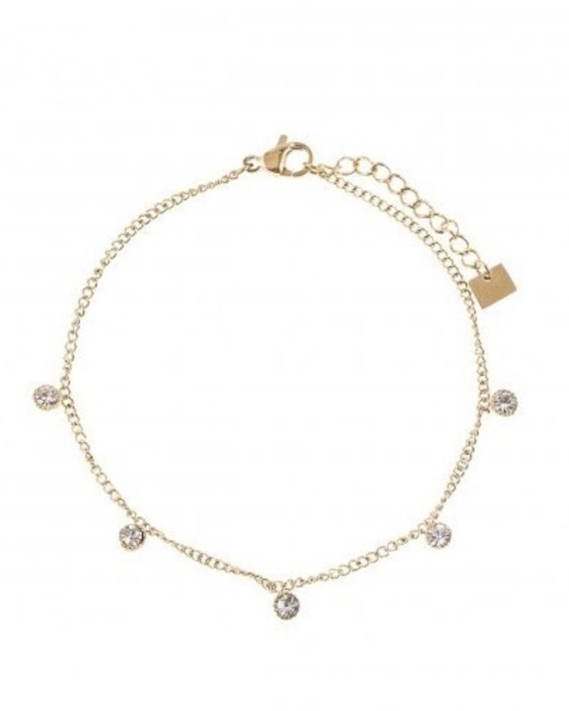 Bracelet - 5 Diamonds