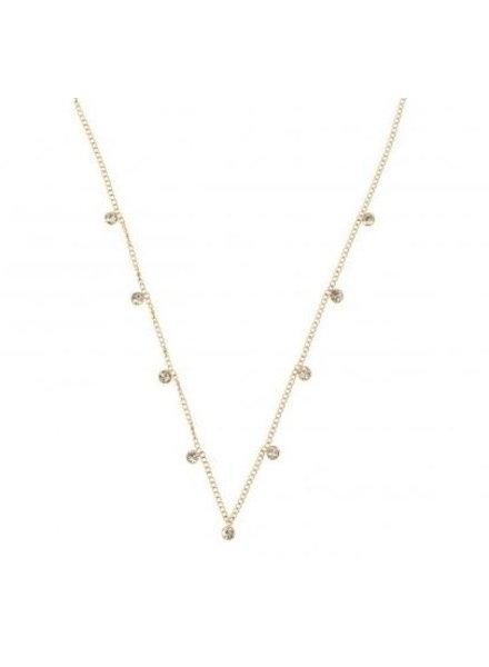 Necklace - 9 Diamonds
