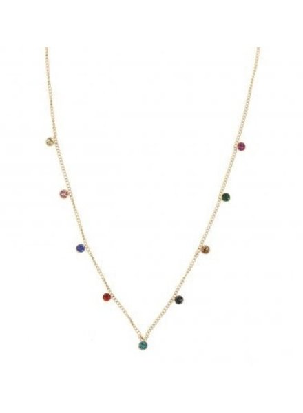 Ketting - 9 Diamonds Colors