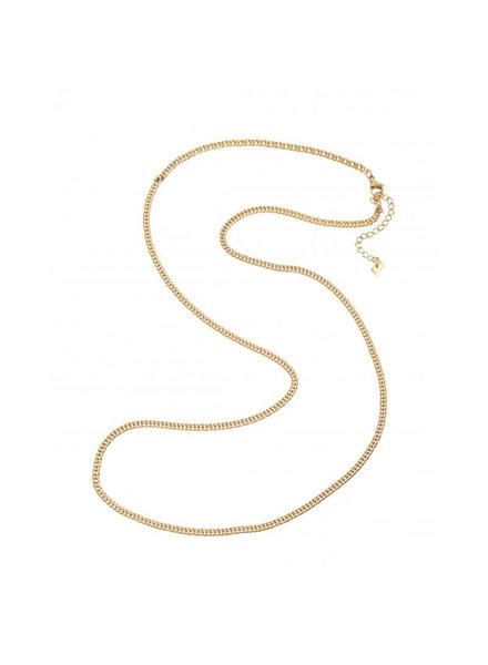 Necklace - Long Plain Chain
