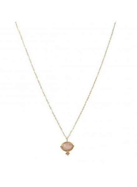 Necklace - Amelie Pink