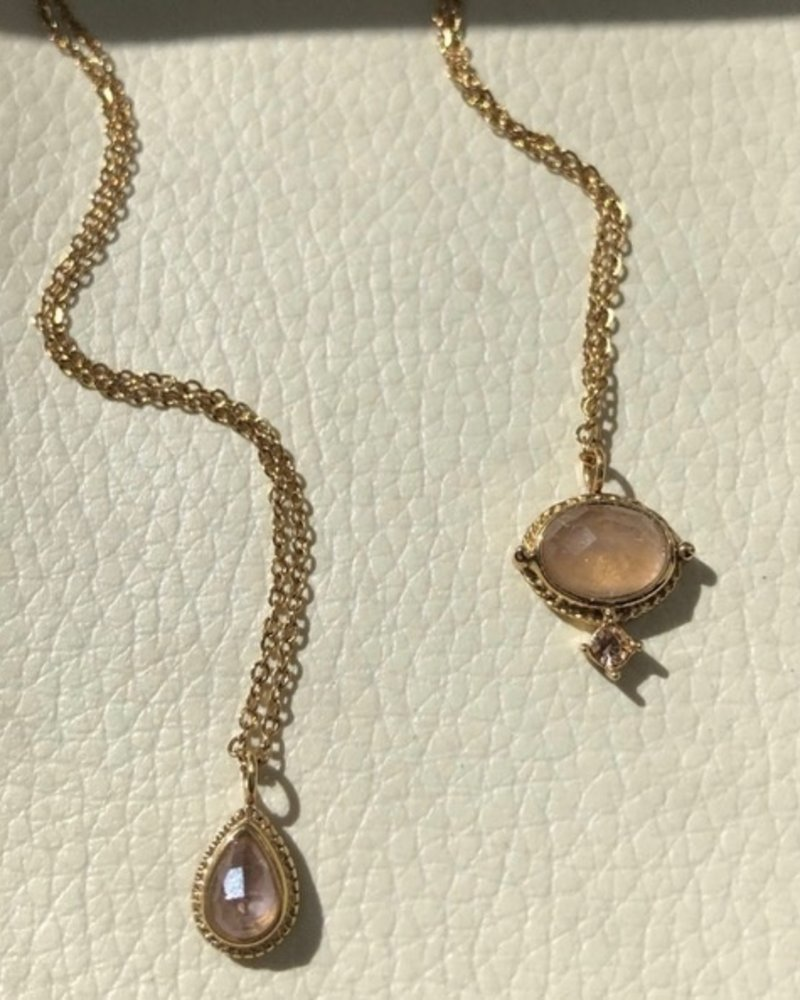 Necklace - Amelie Pink