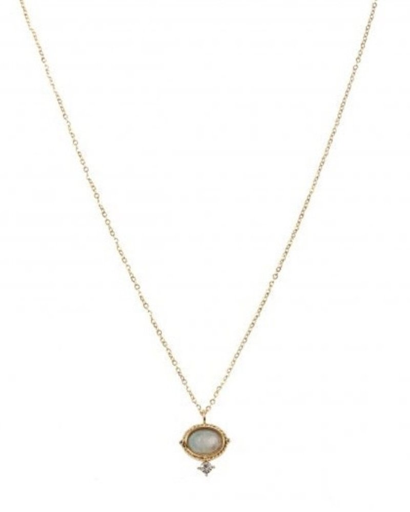 Necklace - Amelie Blue