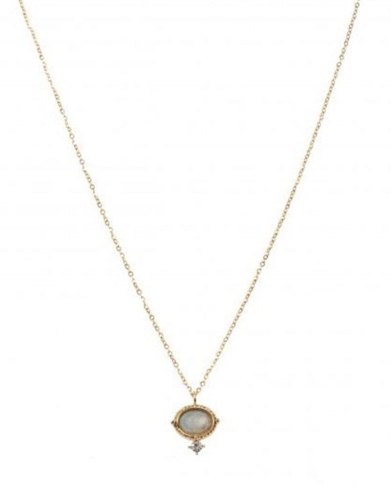 Necklace - Amelie Blue