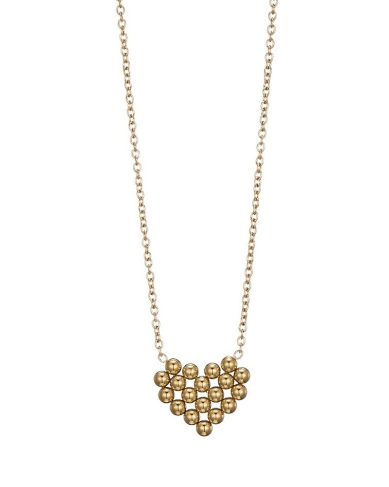 Necklace - Heart Dots