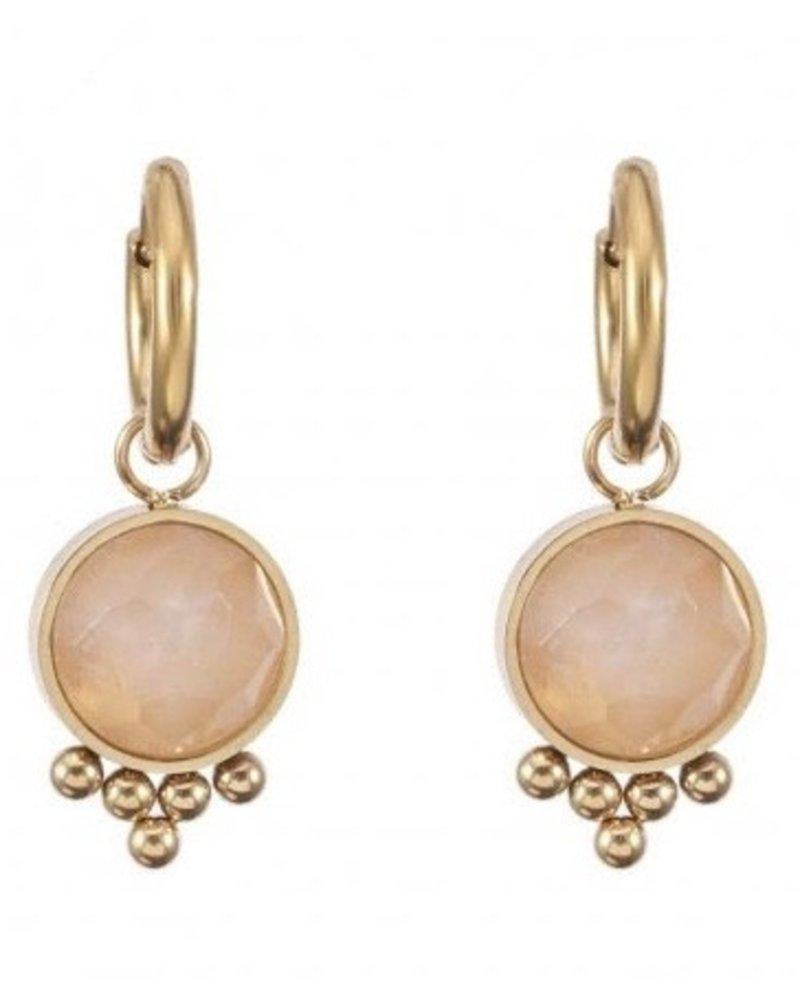 Earrings - Jayla Pink