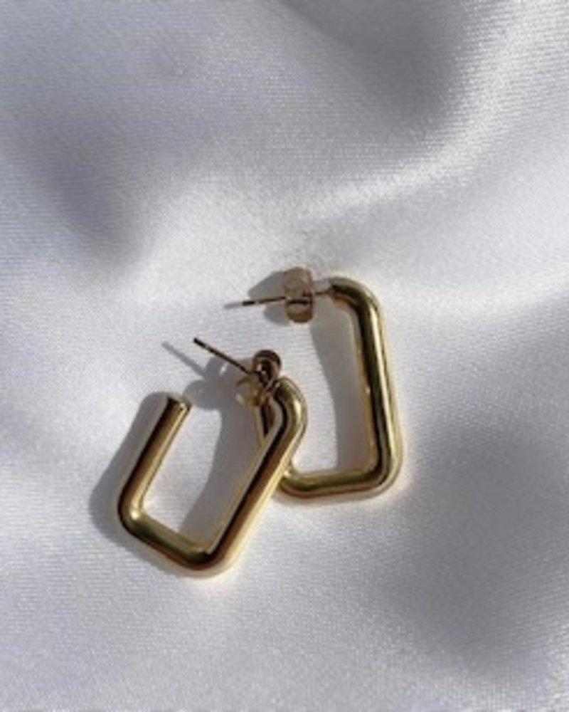 Earrings - Rectangle