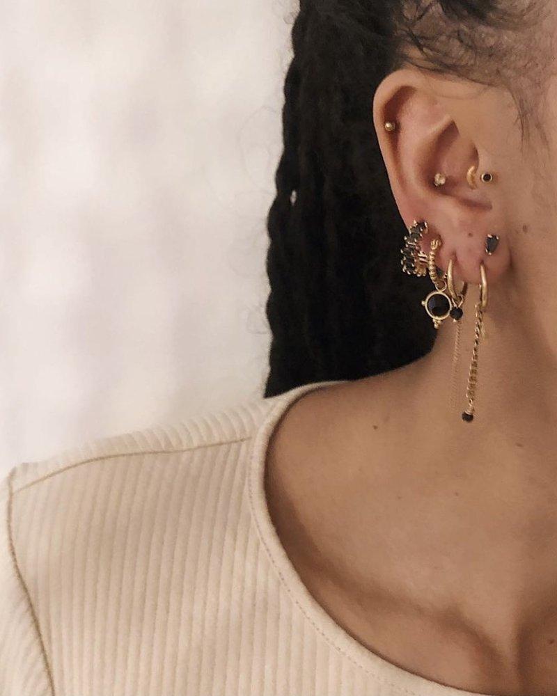Earrings - Thunder Link Chain