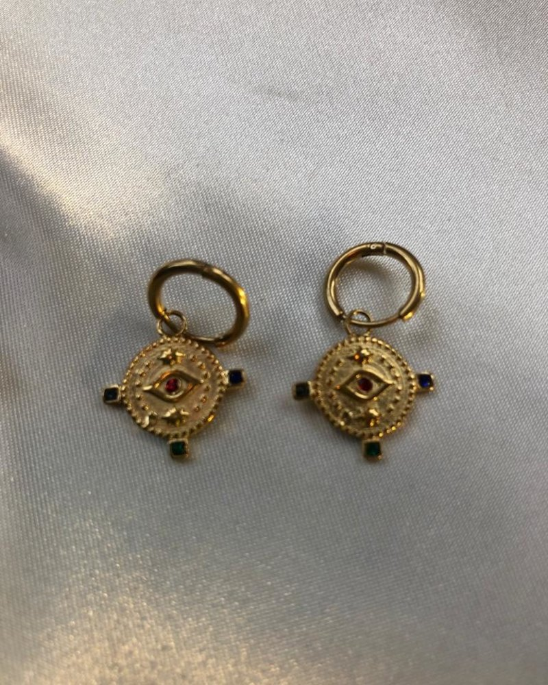Earrings - Amulet Eye Color