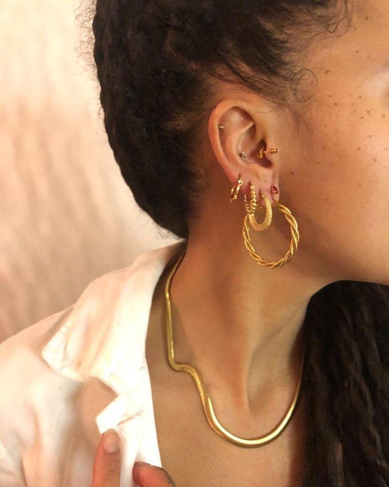 Earrings - 3 Dots