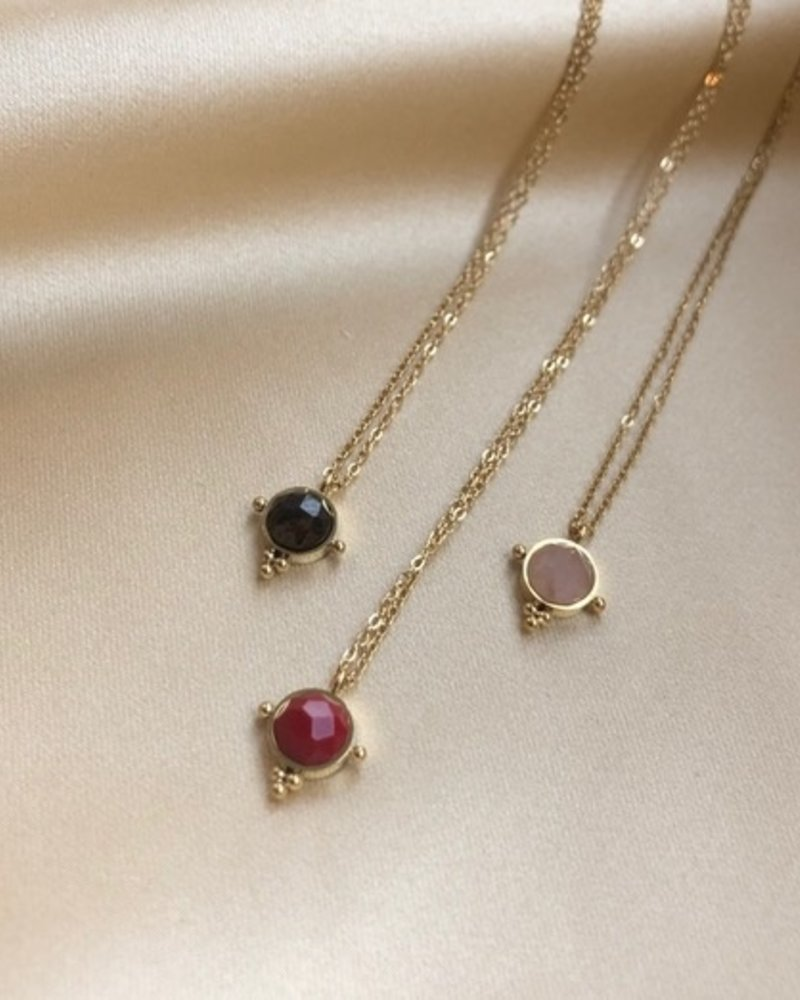 Necklace - Lola Red