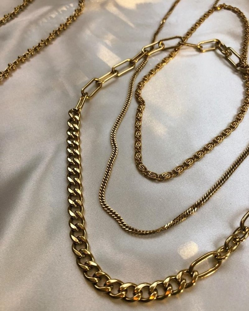 Necklace - Different Link Chain