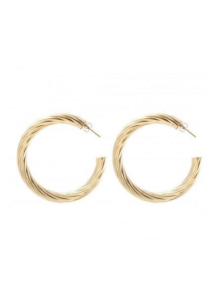Earrings - Rope Big