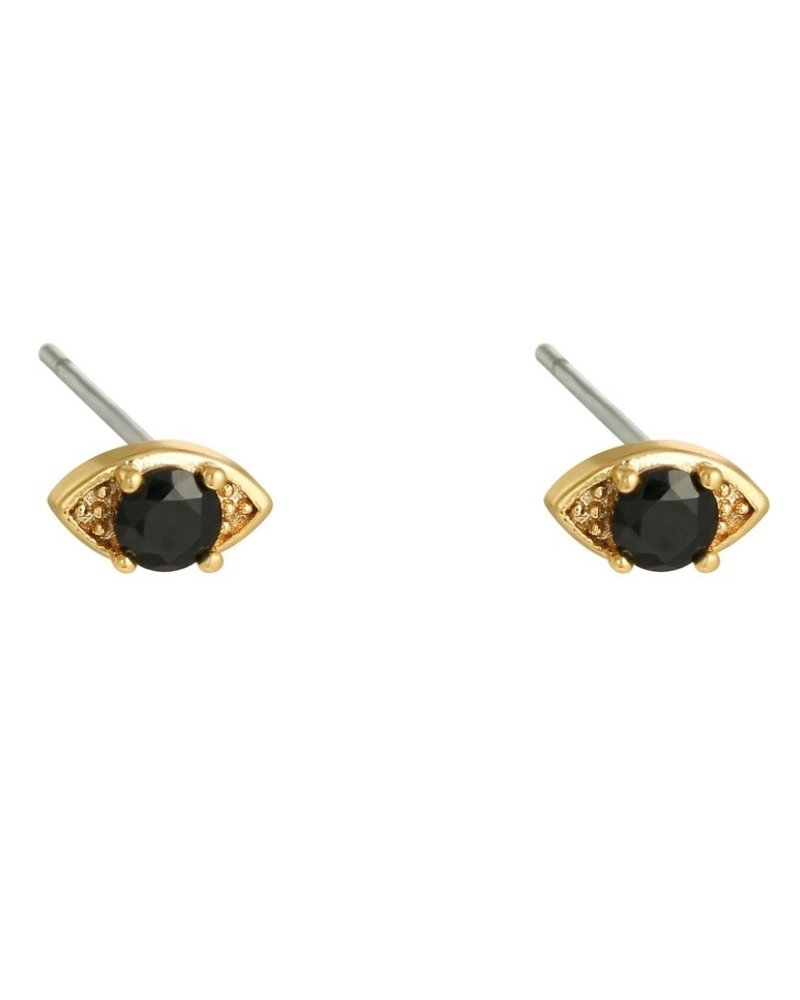 Earrings - Shalee Black