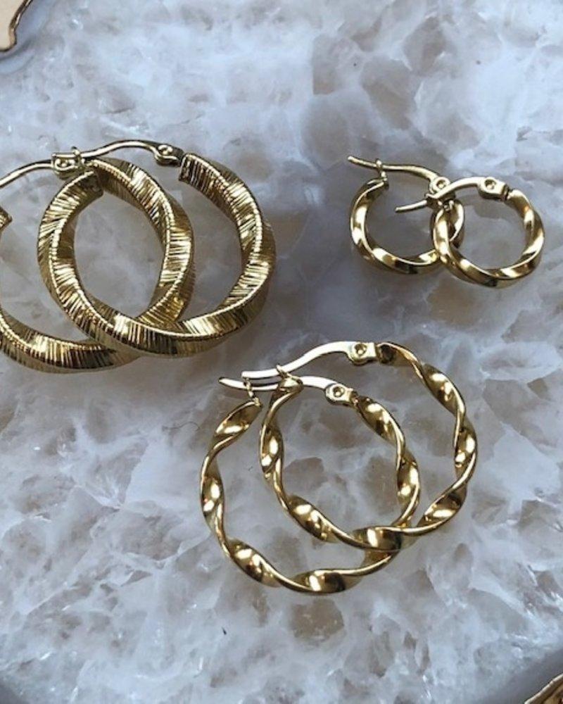 Earrings - Weave Small