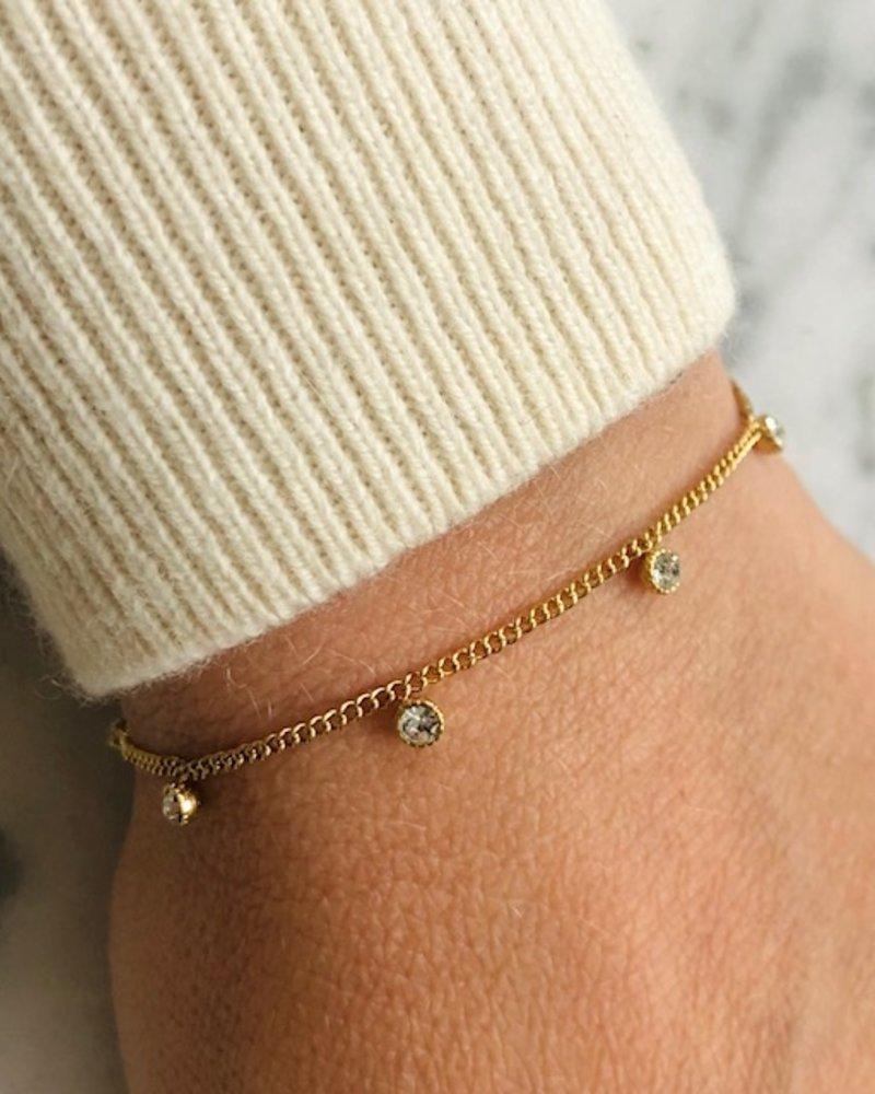 Armband - 5 Diamonds