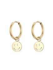 Earrings - Smiley Face