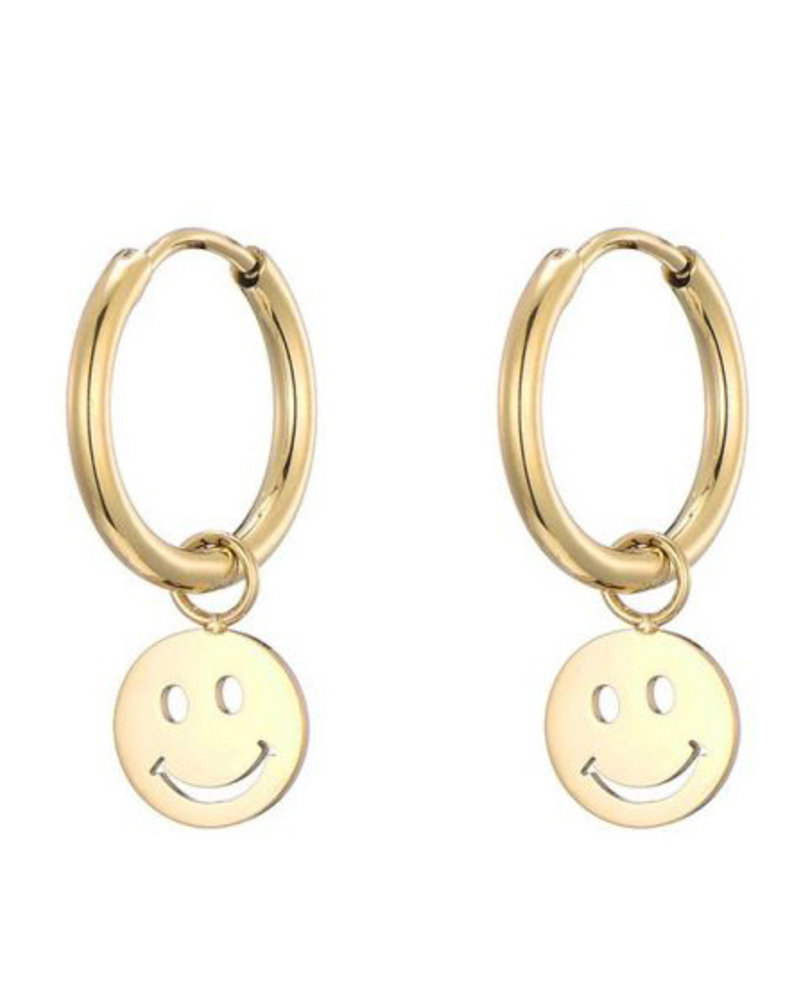 Earrings - Smiley Face