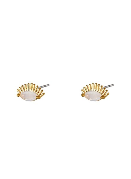 Earrings - Lashes Studs