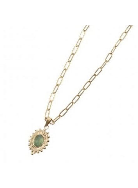 Necklace - Avasa Green