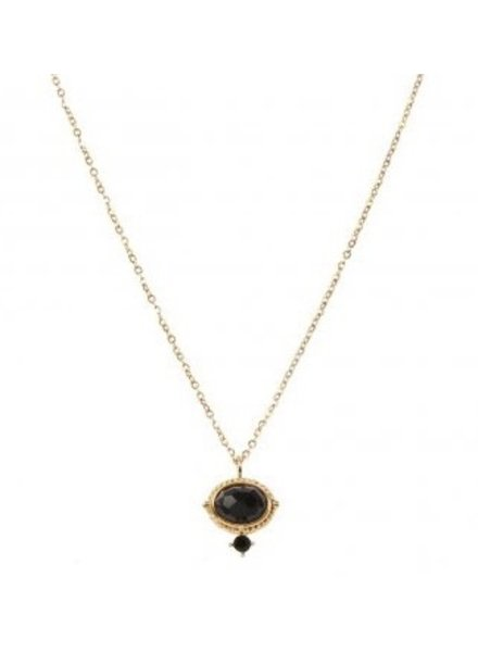 Necklace - Amelie Black