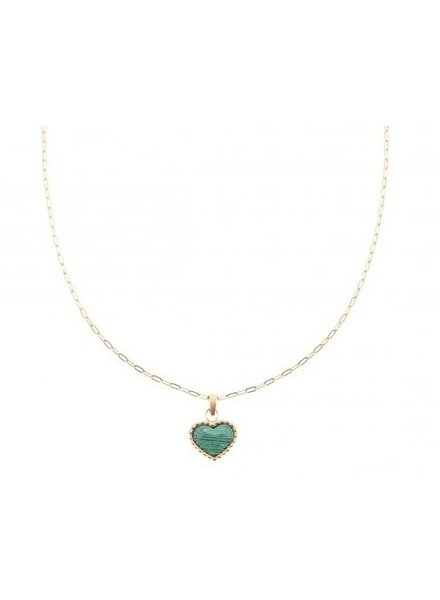 Ketting - Heart Green